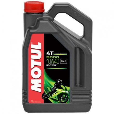 MOTUL 5000  10W40 4T. 4 LITROS MOTOR