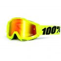 GAFAS 100% ACCURI FLUO YELLOW ESPEJO