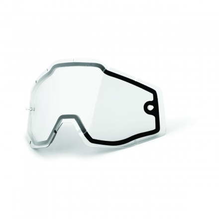 CRISTAL DOBLE GAFAS 100% STRATA, ACCURI, RACECRAFT